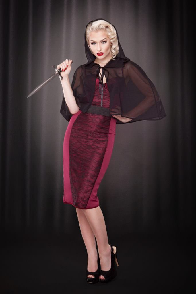 Lingerie Inspired by The Love Witch - Kiss Me Deadly
