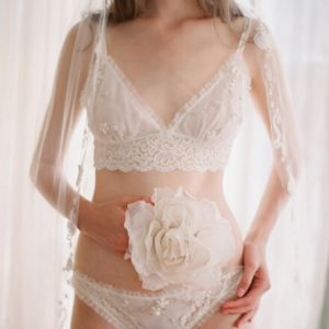 Wedding Week: Claire Pettibone's 'Heirloom' Bridal Lingerie Collection