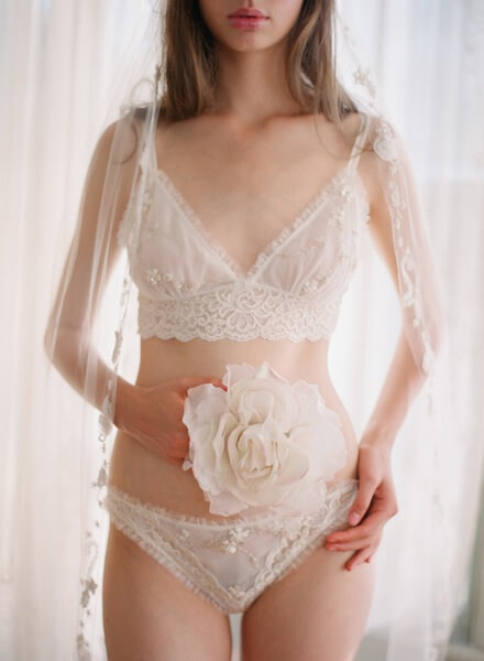 23dd4ce4a Wedding Week  Claire Pettibone s  Heirloom  Bridal Lingerie Collection