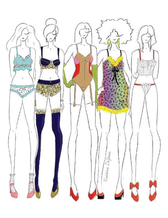 Designer Dreams 5 Fashion Designers I D Love To See Designing Lingerie The Lingerie Addict Intimates Lingerie Magazine