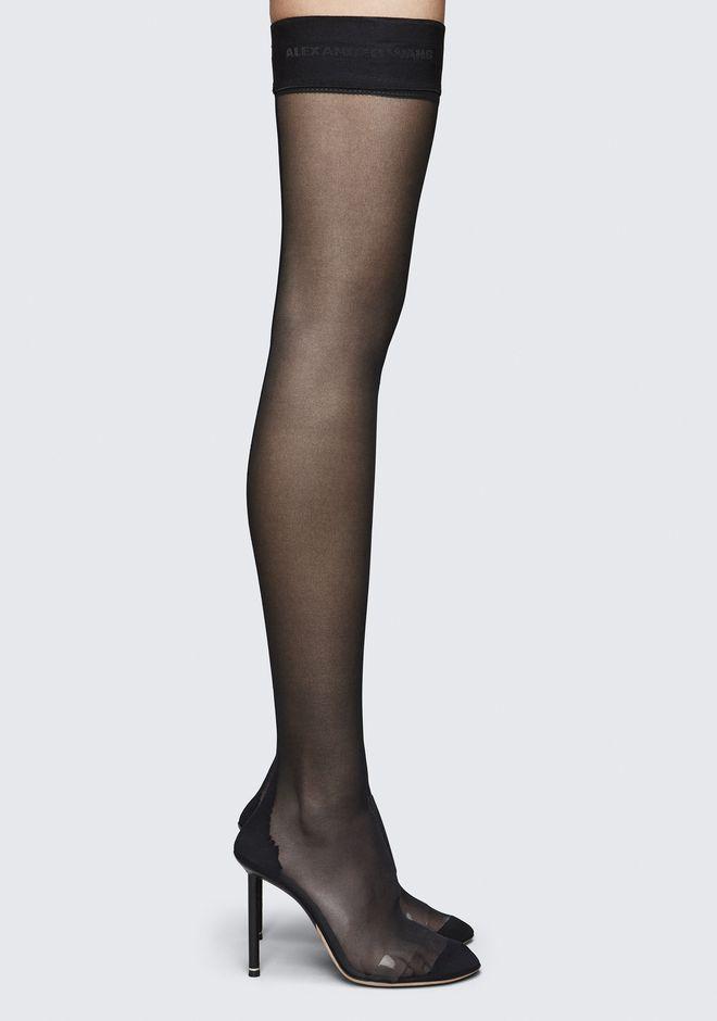 Alexander Wang Stockings Thigh High Heeled Boots