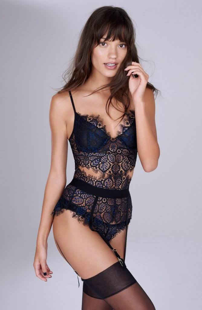 7b94c47e7dd6f For many, lingerie means lace. It has that