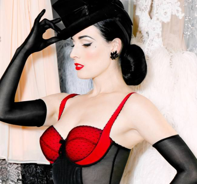 a79c50acb45e2 Dita's been releasing sneak peeks of her upcoming collection since November  (several of which I posted to The Lingerie Addict Tumblr), and with her ...