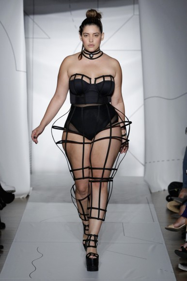 Chromat Shine Collar, Extended Bustier & Android Pant,  Spring/Summer 2015
