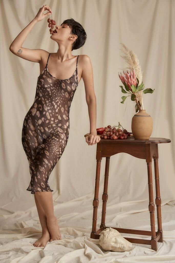 Figs Underwear Kiyoko Silk Slip