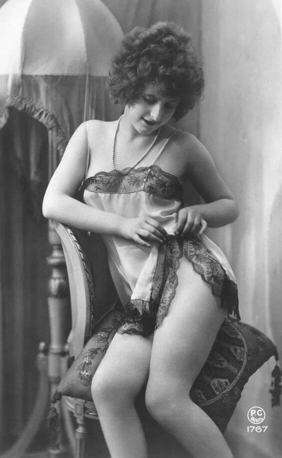 vintage lingere fotos