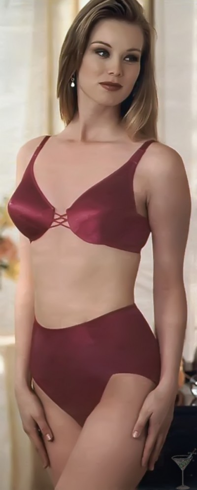 1990s JCPenney lingerie advertisement, via Guerrero Street Lingerie http://guerrerostreetlingerie.tumblr.com