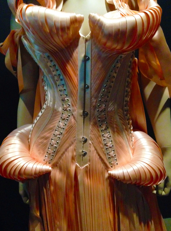 2 black swan sout de l'ange ribbon corset