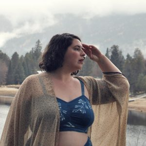 Indie Lingerie Review: Serpent and Bow Custom Indigo Bralette Set