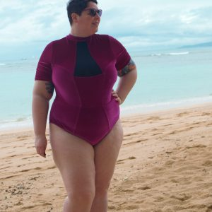Plus Size Swimwear Review: Chromat Tidal II Suit