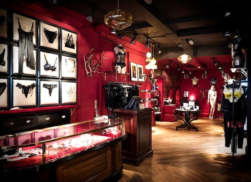 Shop layout inside Coco De Mer