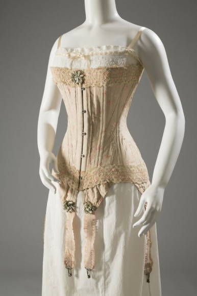 Corset, circa 1905, England (Photograph courtesy The Museum at FIT)