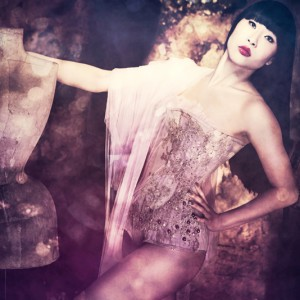 Lingerie Addict Exclusive: Sparklewren by Jenni Hampshire