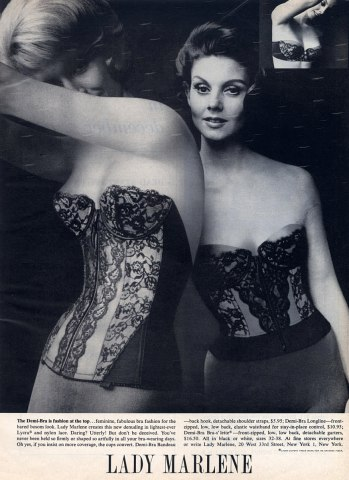 Vintage Lady Marlene Advertisement