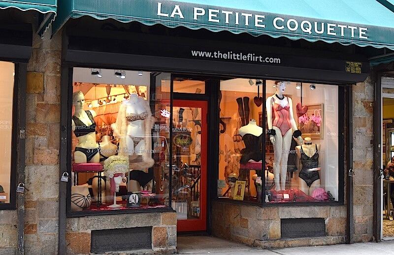Street view of La Petite Coquette