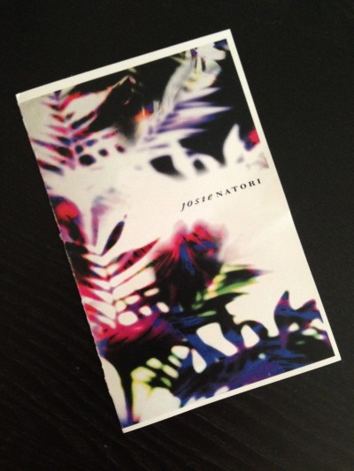 Program for the Josie Natori Spring 2015 RTW runway show