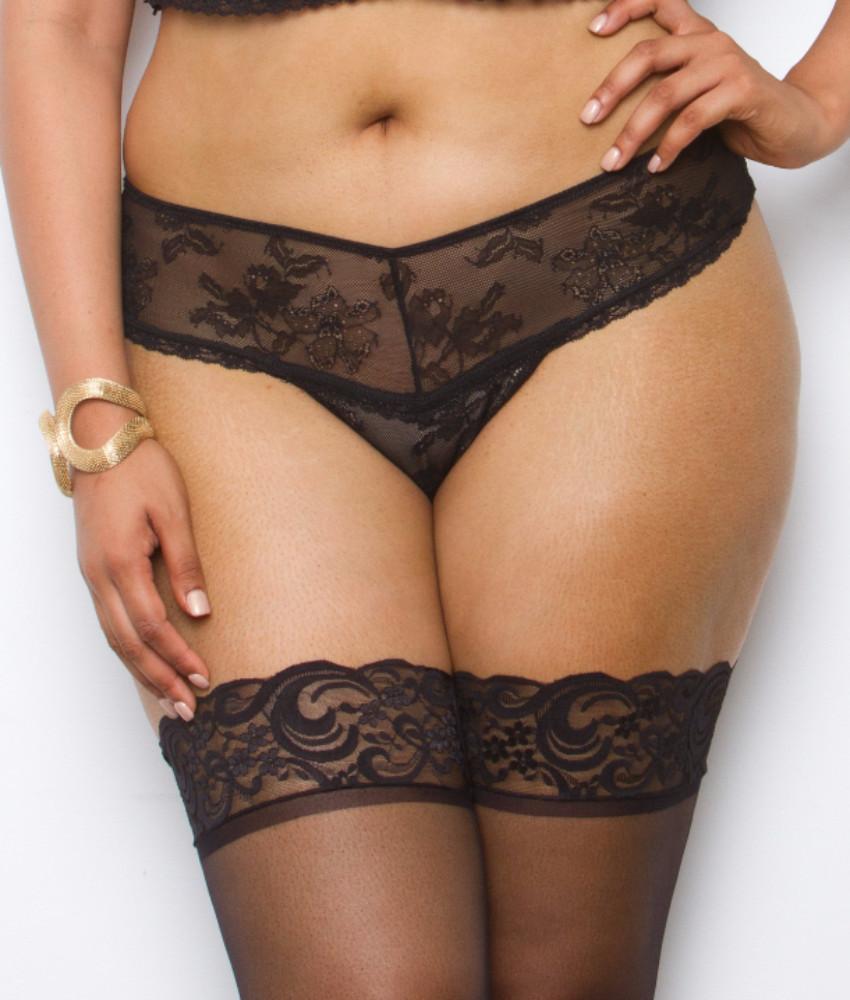 Tia Lyn Rendezvous Plus Size Thong
