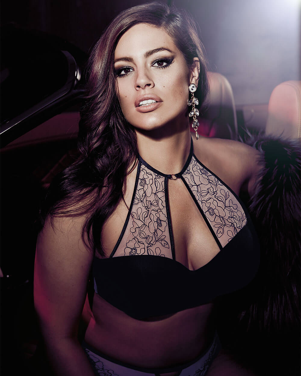 Ashley Graham for Addition Elle Phenomenon Convertible Halter Bra