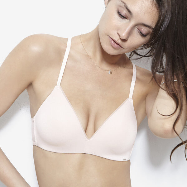 BeMe NYC Essensuals Wire-Free Light Push Up Bra