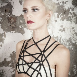 Introducing Agashi: Theatrical Harness and Cage Lingerie