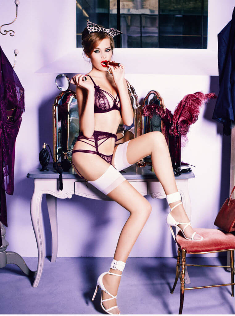 Agent Provocateur SS15 Tanya