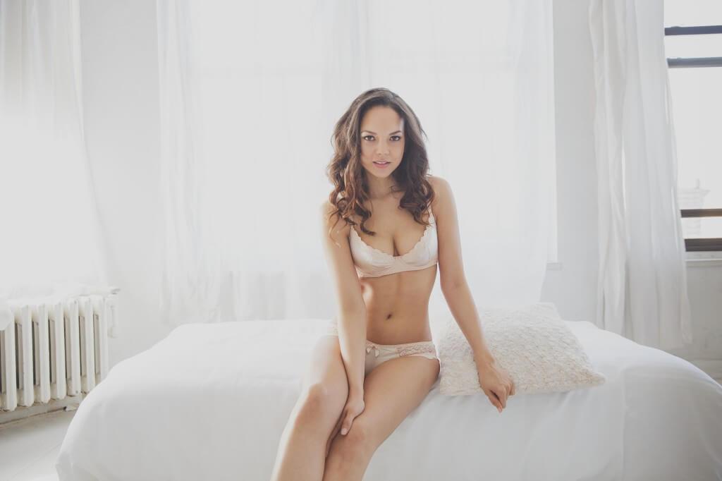 Ampere Lily Bra and Panty Set
