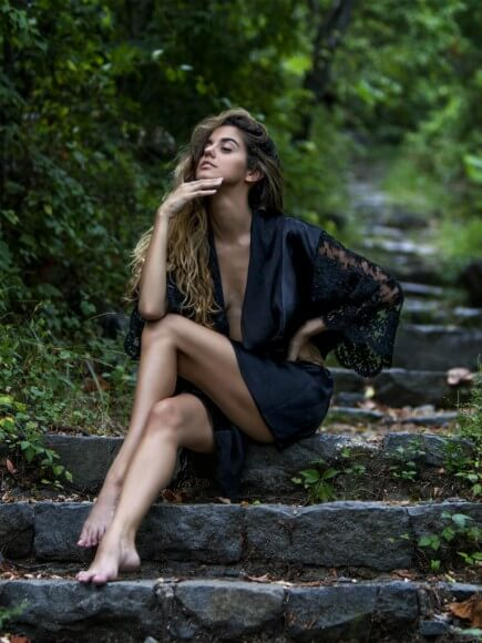 Andree Ciccarelli short robe