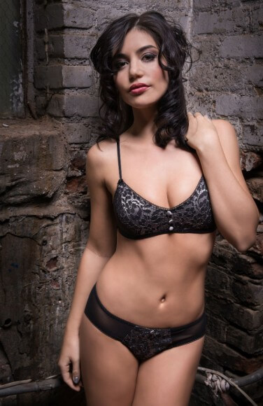 Angela Friedman Camille bralette and panty