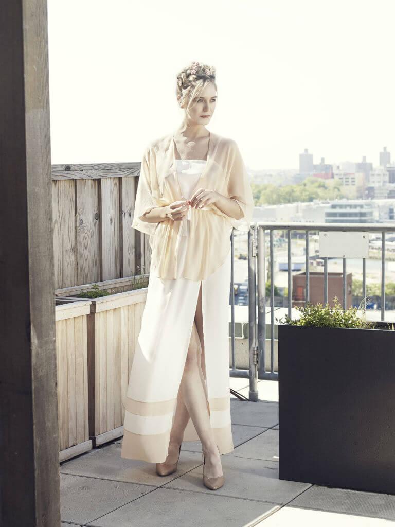 Angela Friedman SS15 louisa gown pink1