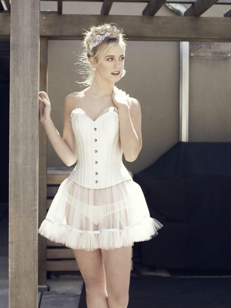 Angela Friedman SS15 pascaline ivory corset1