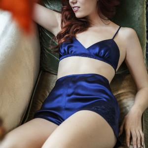 Angela Friedman AW2015: Jazz Era Lingerie has the Blues