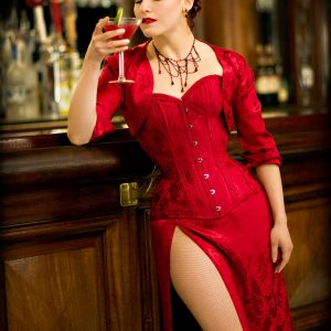 Corsets, Cocktails, & Carousing: The Effects of Drinking While Corseted