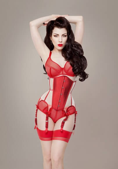 207a158d4b Ava Corsetry  Valentina  Corset. Photography by Threnody In Velvet.