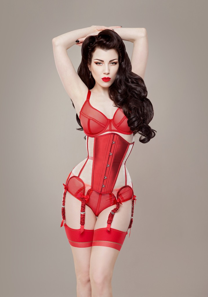 Ava Corsetry 'Valentina' Corset. Photography by Threnody In Velvet.