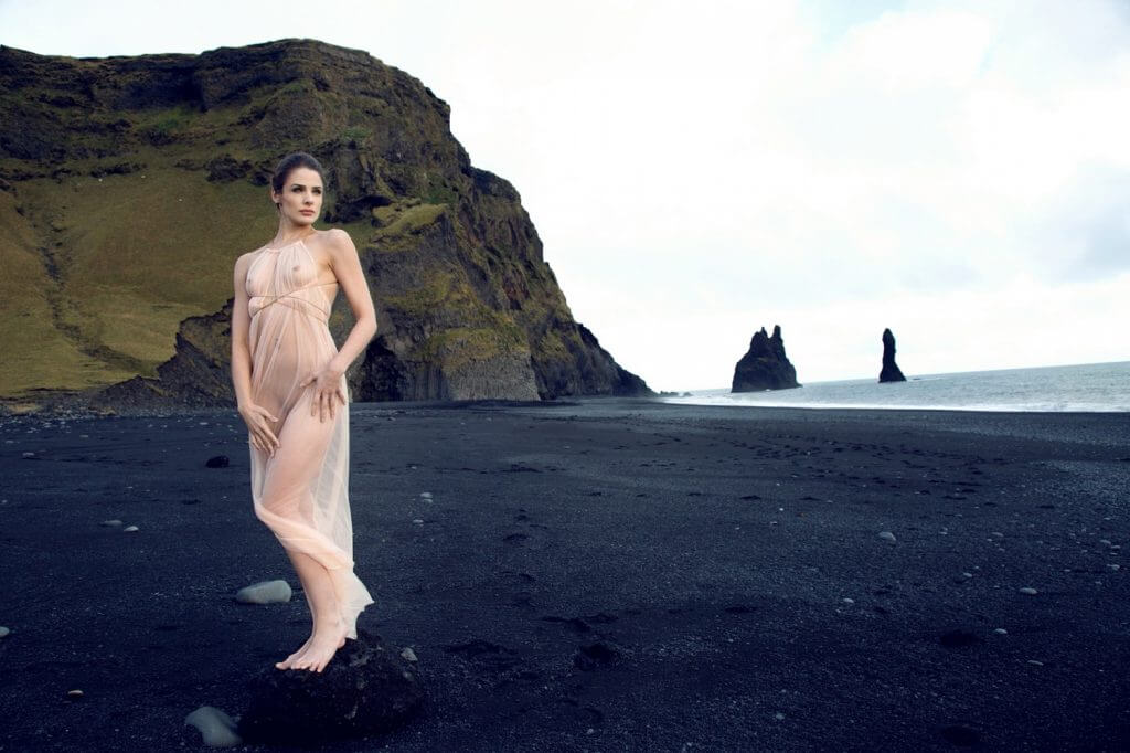 Between the Sheets Andromeda Lookbook Vik Laid Bare Gown