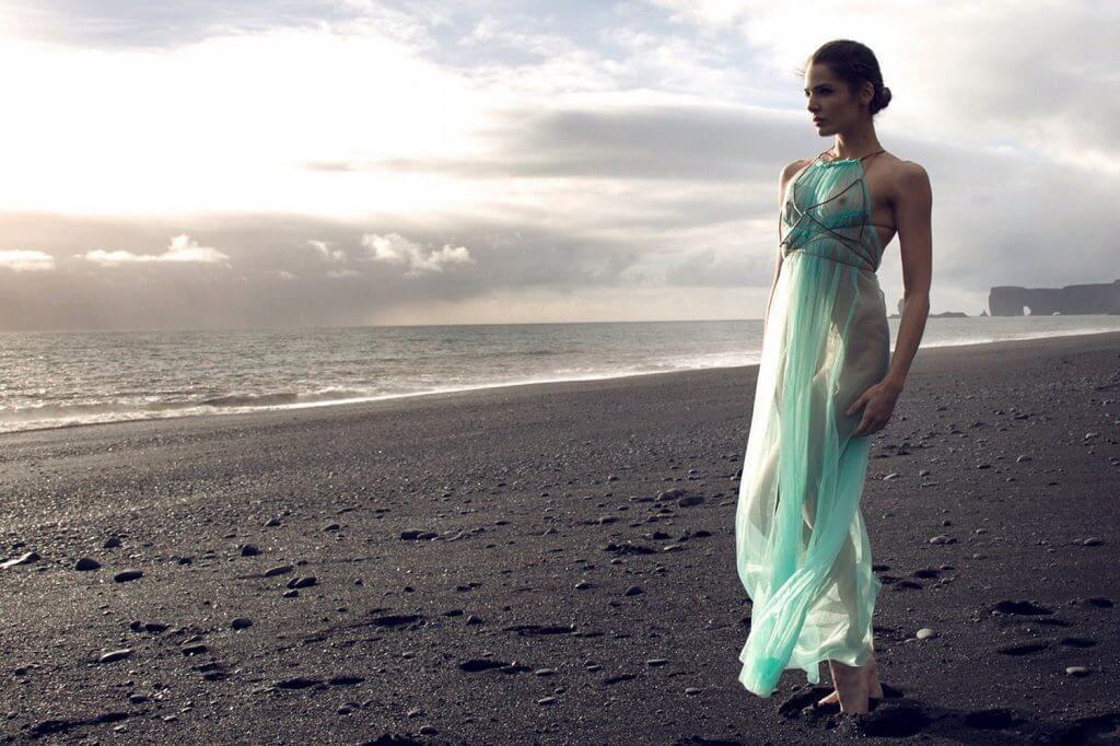 Between the Sheets Andromeda Lookbook Vik Patina Gown