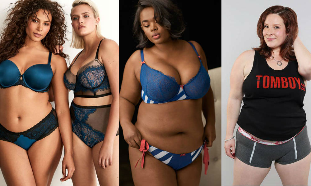 3332a6767 Plus size underwear is available from brands such as Torrid, Lane Bryant  and TomboyX