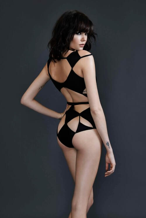 Bao Tranchi Diamond Bodysuit-2