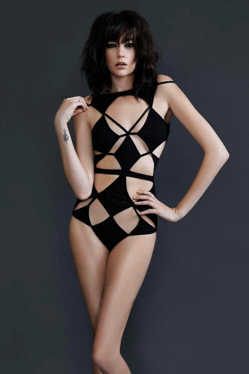Bao Tranchi Diamond Bodysuit