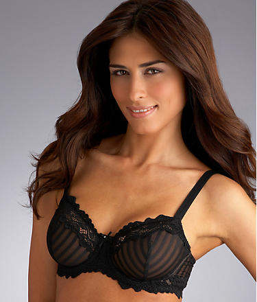 Whimsy by Lunaire Barbados with Lace Demi Bra - $28.00