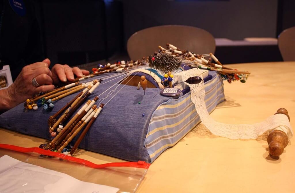 Bobbin Lace Making at Powerhouse Museum