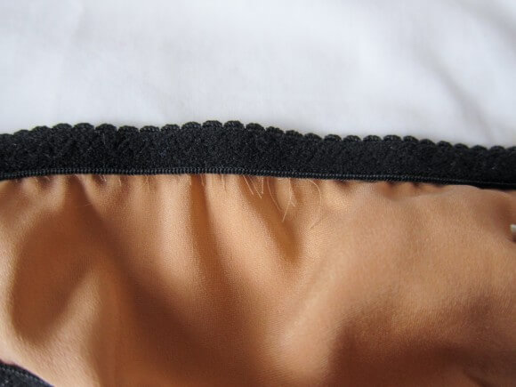 Bordelle 'Tropicana' webbed thong interior elastic detail