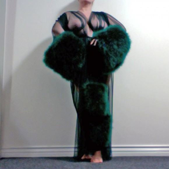 Boudoir by D-Lish - Marabou Dressing Gown