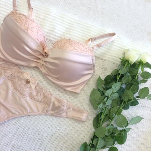 Boux Avenue 'Henrietta sparkle' lingerie set. Photo from Boux Avenue's twitter.