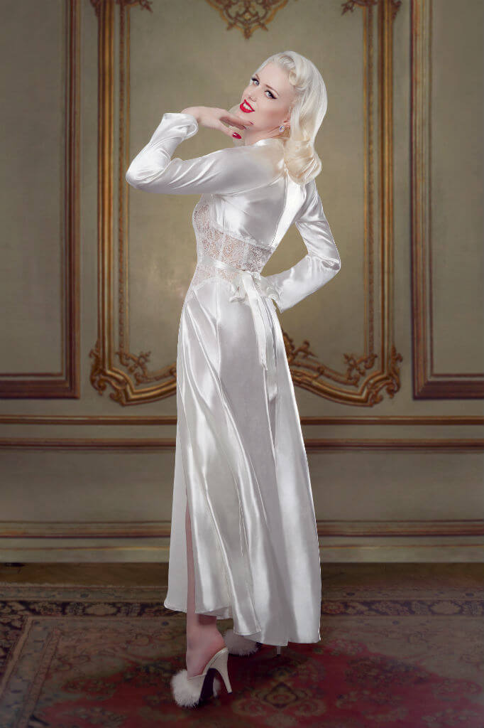 Bridal Nell Robe Back Betty Blues Loungerie HR