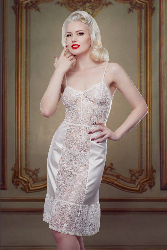 Bridal Nell Slip Front Betty Blues Loungerie HR