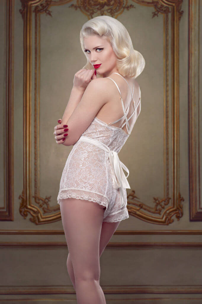 Bridal Nell Teddy Back Betty Blues Loungerie HR