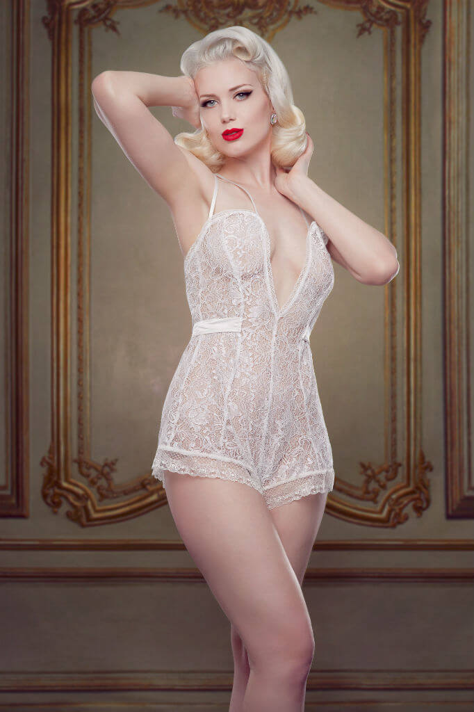 Bridal Nell Teddy Front Betty Blues Loungerie HR