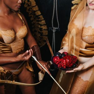 Celestial Goddesses: An Editorial by The Lingerie Addict & Sweet Nothings