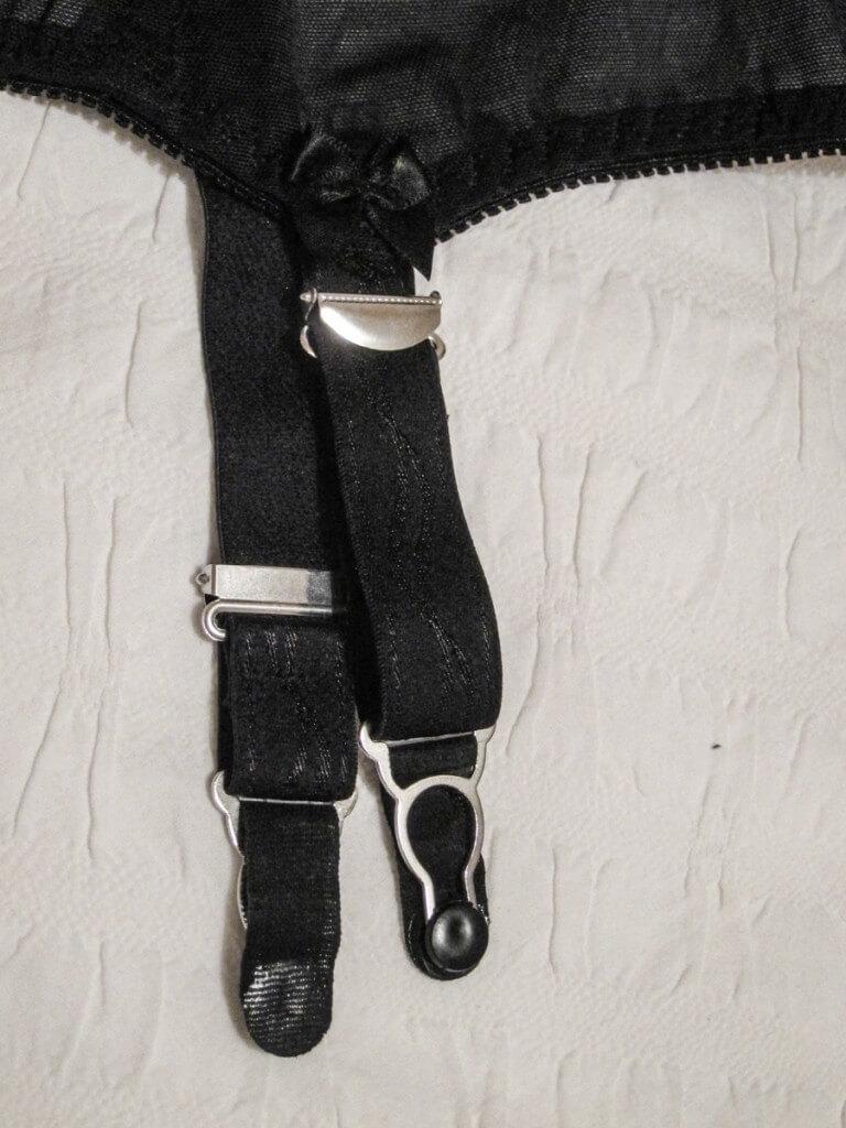 Suspender Belt Boétie by Cervin strap detail